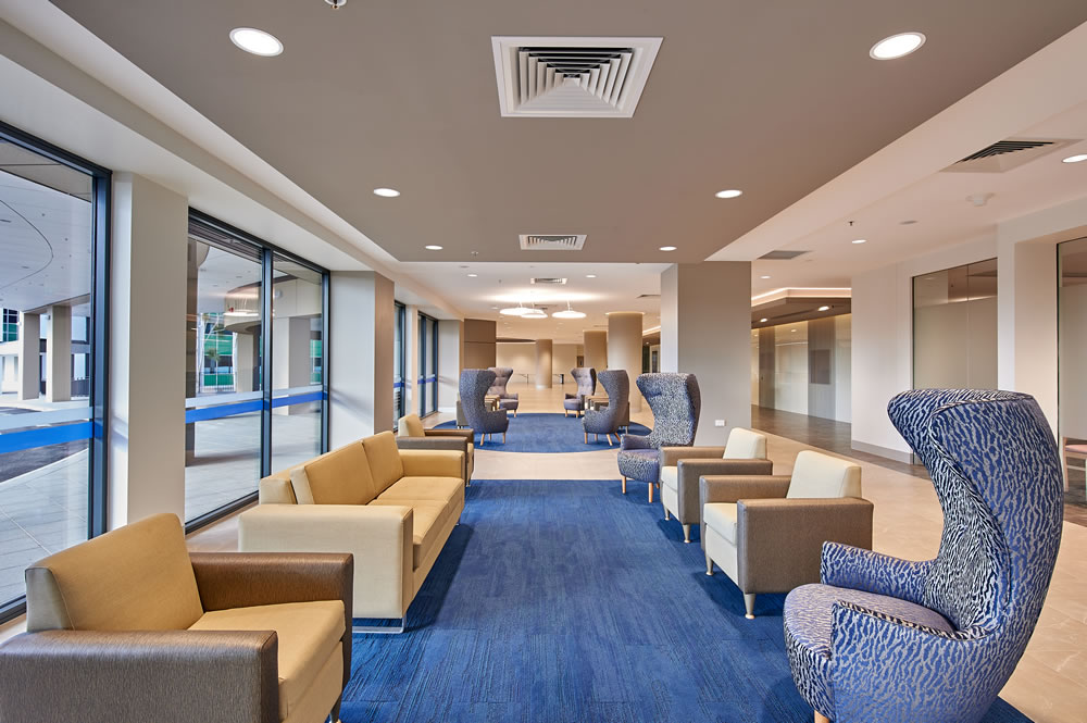 Bruce House Foyer : Take a virtual tour calvary bruce private hospital