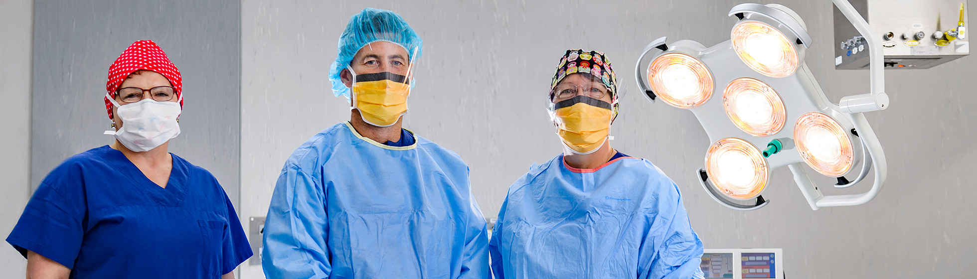 Surgeons at Calvary Central Districts private hospital