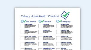 Calvary Fact Sheet 01 - Home Health Checklist
