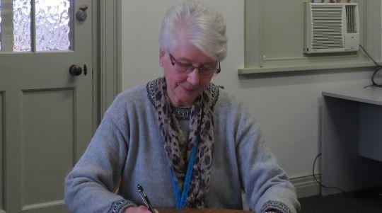 Louise coordinates the biography program