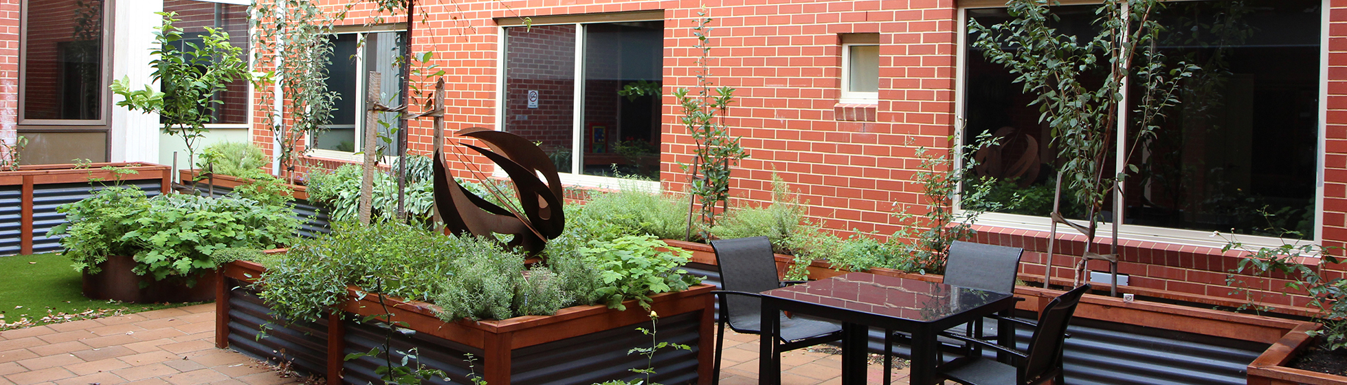 Garden at north adelaide hospital