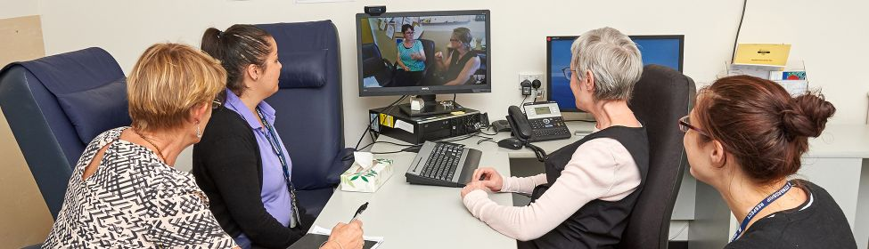 Teleconsulting for motor neuron disease patient