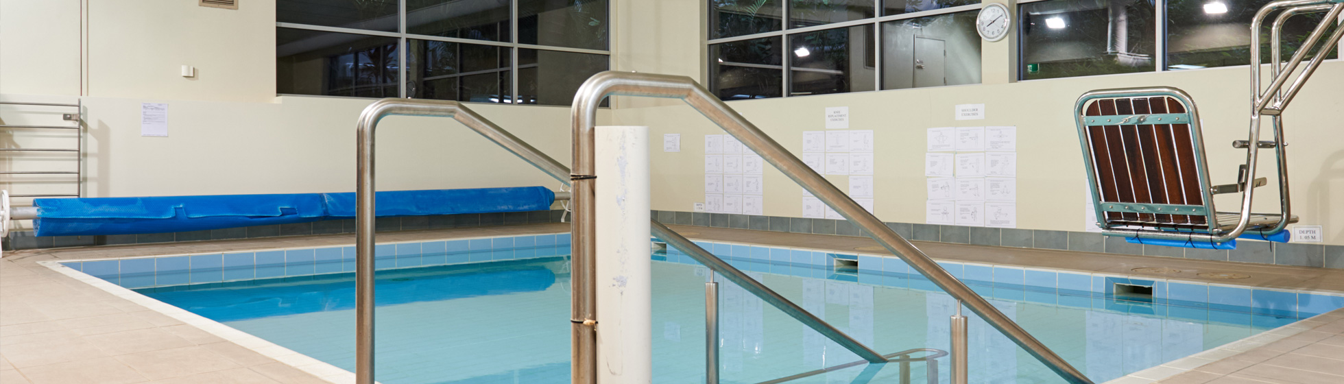 Hydrotherapy rehabilitation pool