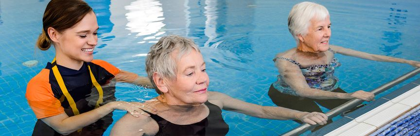 Hydrotherapy pool at the Rehab Private Hospital Adelaide