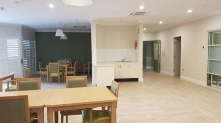 Calvary Muswellbrook dining in Skellatar House