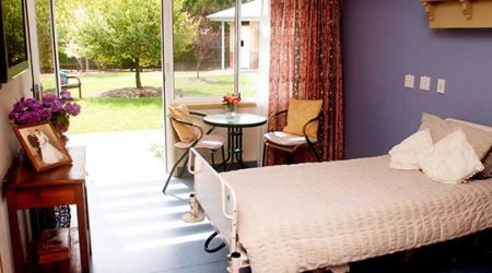 Calvary Cessnock Retirement Community aged care room