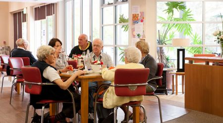 Canberra Aged Care cafe