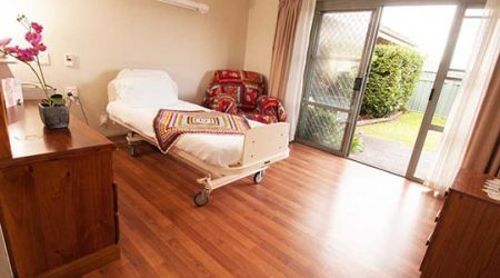 Belmont Aged Care room