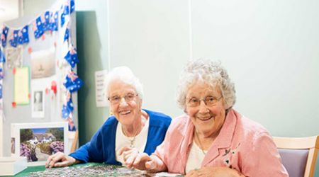 Eleebana Aged Care facility residents