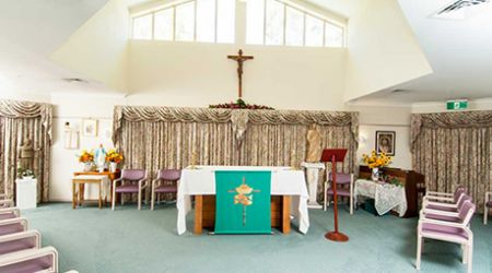 Eleebana Aged Care facility chapel