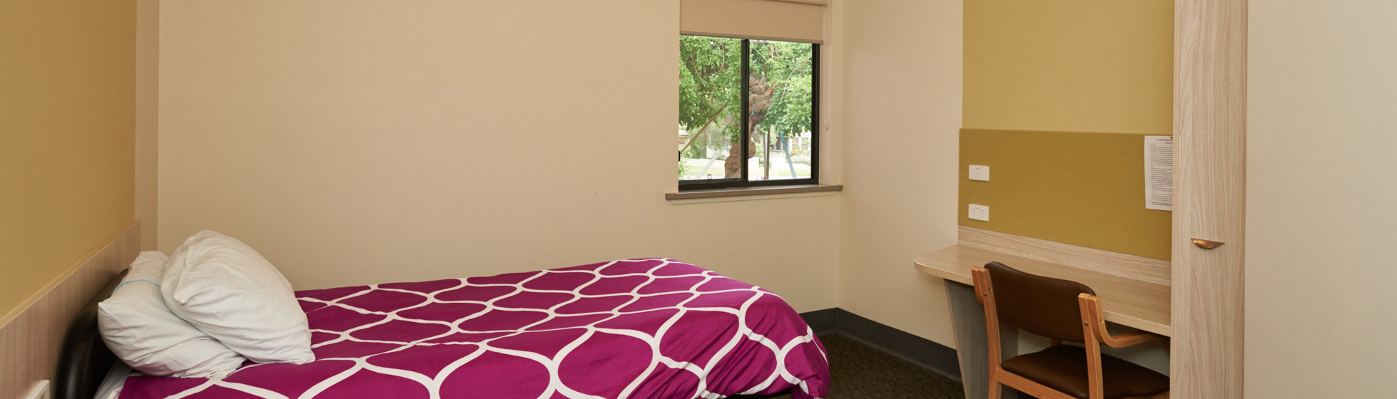 Private patient room at Riverina hospital