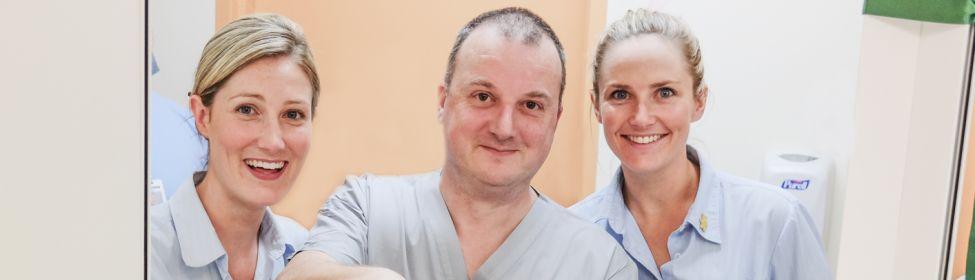 Surgical team at Calvary St Luke's Hospital