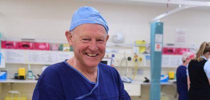 Specialist surgeon at Calvary