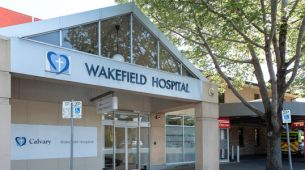 Exterior of Wakefield private hospital