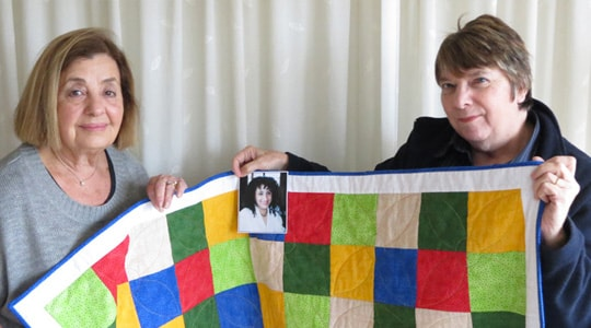 Quilt made to honour daughter