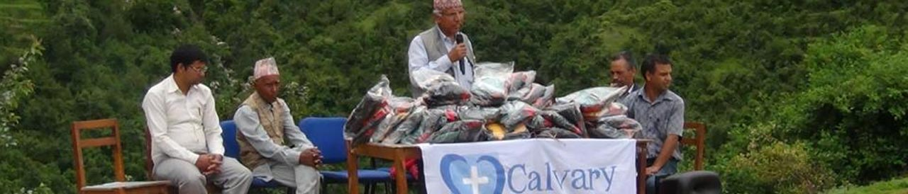 Calvary sends funds to help Nepal disaster