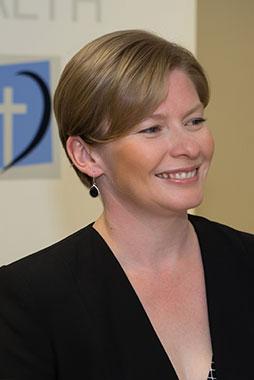 Calvary Admin Officer Amy Seabrook