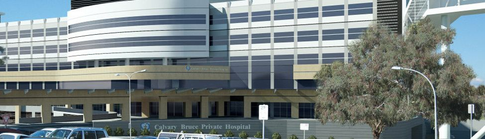 Bruce Private Hospital visualisation
