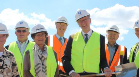Calvary Board of Directors at ACT Sod turning
