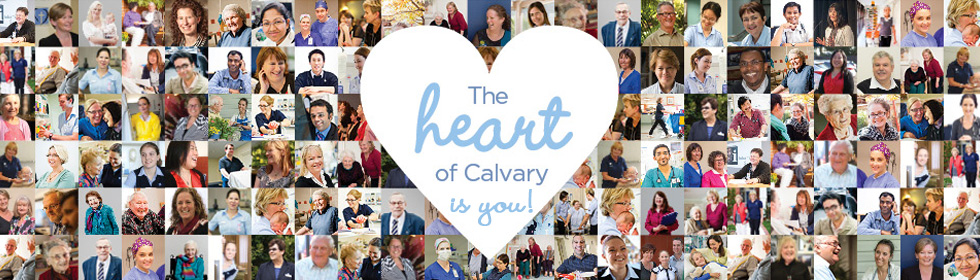 The heart of Calvary is you!