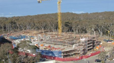 June 2016 - Level 1 structure in progress