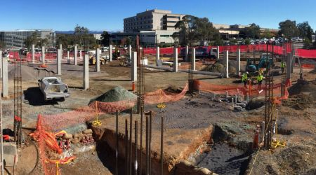 May 2016 - Zone 1 Ground Floor: In ground services and substructure in progress