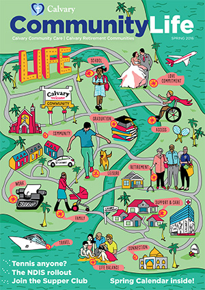 Community Life Spring Magazine Cover