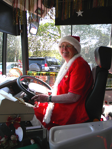Margaret the Christmas Bus Lady