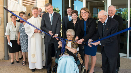 Official Opening and Blessing Calvary Flora McDonald