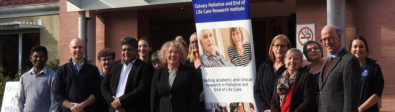 Palliative Care Research at Clare Holland House Bruce
